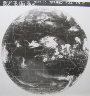 insat 1d infrared